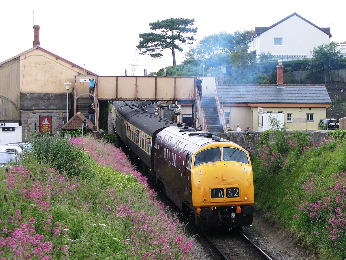 Watchet railway station - Wikipedia