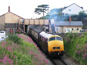 Watchet railway station - Image: Watchet 832