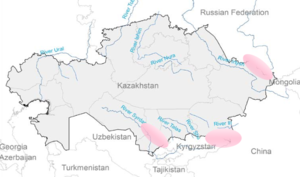 Renewable energy in Kazakhstan - High potential regions for Hydropower plants