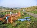 Water supply pipe repairs by the road to Winterhope Reservoir - geograph.org.uk - 261583.jpg