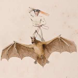 Hope (painting) - Image: Watts – Felix on the Bat