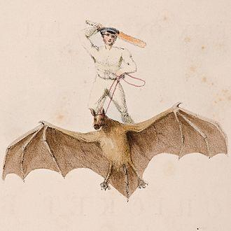 Hope (painting) - Image: Watts – Felix on the Bat