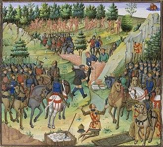 Gog and Magog - Image: Wauquelin histoire bnf fr 9342 fol 131v peuple de gog et magog