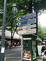 Wayfinding signs with cutout arrows (18808015085).jpg