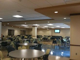 Westminster Christian Academy (Missouri) - Image: Wcacafe