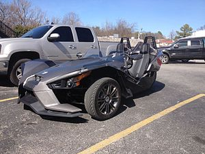 Polaris Slingshot - Polaris Slingshot in Fayetteville, Arkansas, US