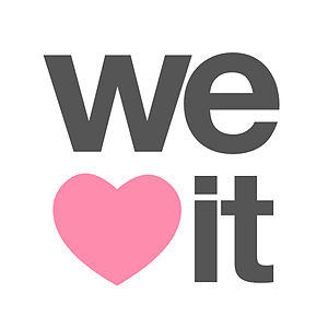 We Heart It - Logo used until 12 December 2016