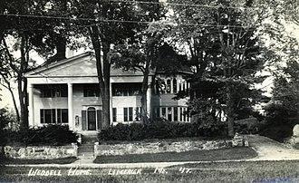 Limerick, Maine - Image: Weddell Home, Limerick, ME