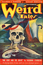 Weird Tales cover image for September 1949