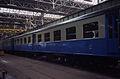 Werkplaats Mechelen 1985 eerste treinstel restauratie I.jpg
