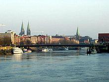 La Weser à Brême.