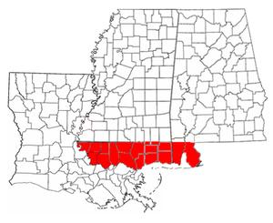 West Florida Map