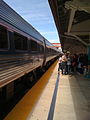 West Palm Beach station Amtrak train arriving north view.jpg