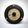 Western Electric 500 mA D.C. Ammeter.jpg