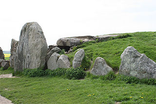 West Kennet Long Barrow Neolithic tomb or barrow in Wiltshire, England