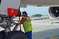 What it means to be..tower pusher @ Brussels Airport (7975517658).jpg