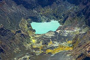 Der Kratersee von White Island