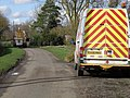 White van man with chevrons - geograph.org.uk - 1191061.jpg