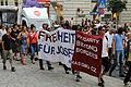 Wien-Innere Stadt - Tschechische Initiative Ne Rasismu bei der Demonstration gegen die Kriminalisierung von Antifaschismus.jpg