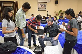 WikiSpeak Demonstration - Hackathon - Wiki Conference India - CGC - Mohali 2016-08-07 8618.JPG