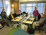 Wikimedia Multimedia Team - January 2014 - Photo 20.jpg