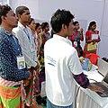 Wikipedian Ramjit Tudu on santali Wikipedia1.jpg