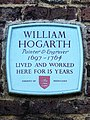 William Hogarth painter & engraver 1697-1764 lived and worked here for 15 years.jpg