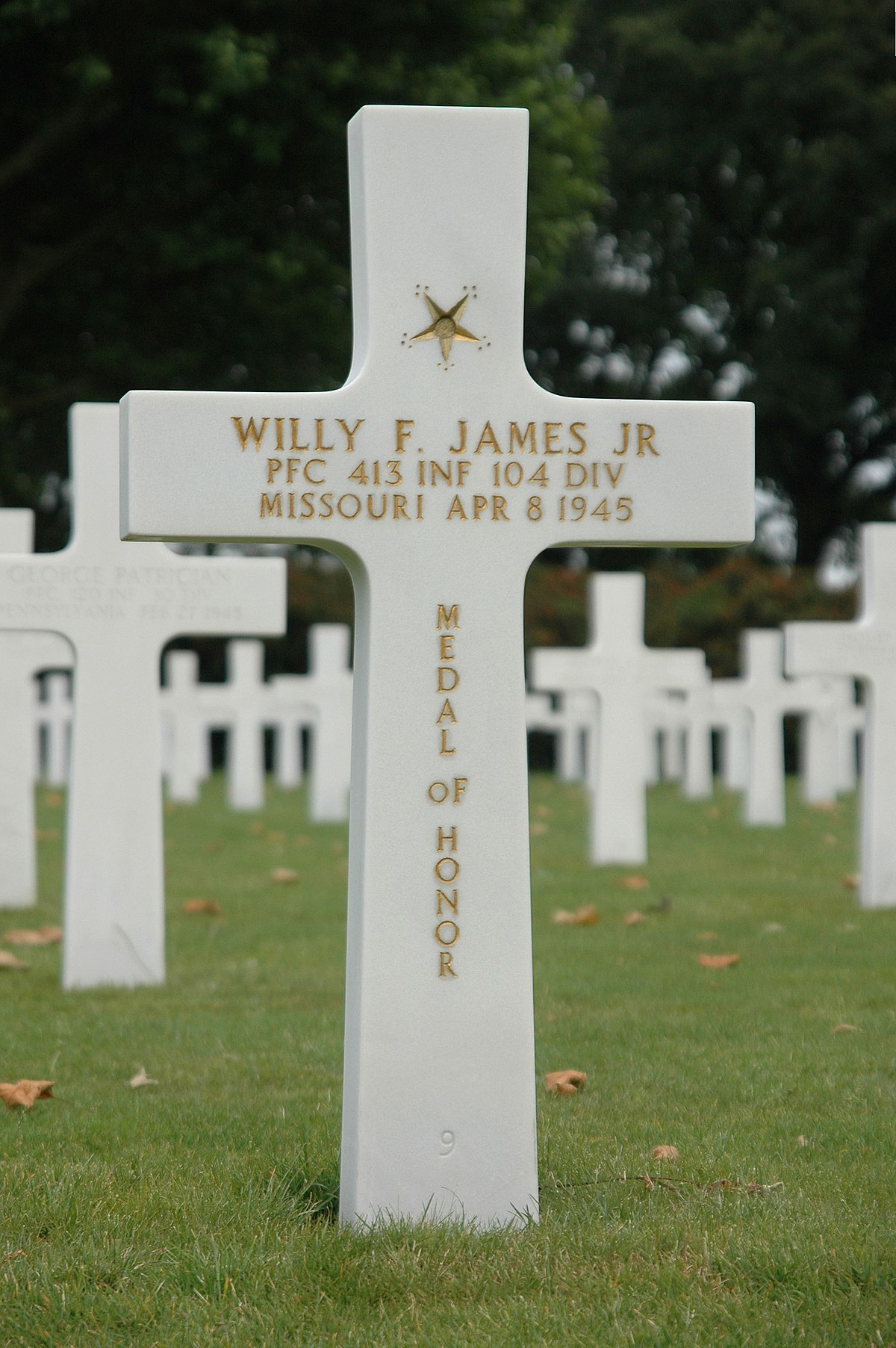 Willy F. James Jr. - Wikipedia