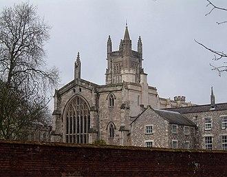 Montague Druitt - Winchester College Chapel Photograph by Christophe Finot