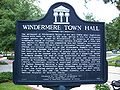 Windermere Town Hall plaque01.jpg