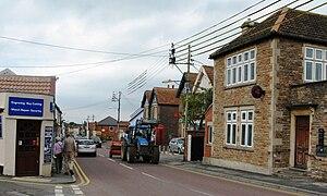 Winscombe - Image: Winscombe Woodborough Road
