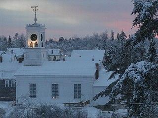Union Church (Columbia Falls, Maine) United States historic place