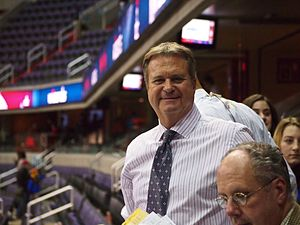 Steve Buckhantz - Image: Wizards Announcer Steve Buckhantz January 2013