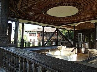 Wooden Pavilion with Marble Fountain - Baba Arabati Tekke - Tetova (Tetovo) - Macedonia.jpg