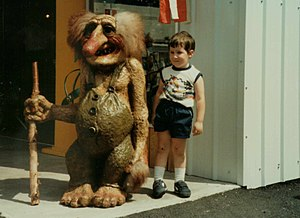 1984 Louisiana World Exposition - Image: Worlds Fair New Orleans Troll and Child