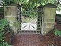 Wrought iron gates at St Margarets - geograph.org.uk - 1437104.jpg