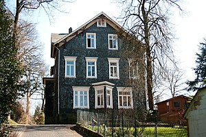 Rudolf Carnap - Carnap's birthplace in Wuppertal