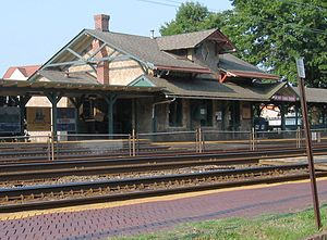 Wynnewood station - Image: Wynnewood Station Pennsylvania