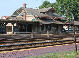 Wynnewood, Pennsylvania - Wynnewood train station
