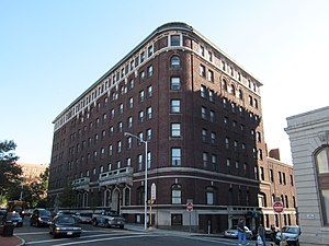 National Register of Historic Places listings in Springfield, Massachusetts - Image: YMCA, Chestnut Street, Springfield MA