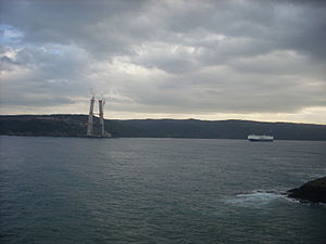 Yavuz Sultan Selim Bridge - Image: Yavuz Sultan Selim Bridge p 7 Jan 2014