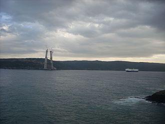 Yavuz Sultan Selim Bridge - Image: Yavuz Sultan Selim Bridge p 7 Jan 2014