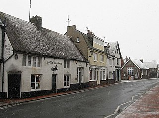 Rottingdean village in the city of Brighton and Hove, in East Sussex