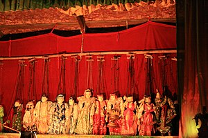 Yoke thé - Yoke thé troupe in Bagan, May 2010