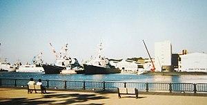 Yokosuka, Kanagawa - The U.S. Navy base at Yokosuka
