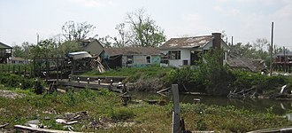 Isleños in Louisiana - Ysclosky, Saint Bernard Parish, after the devastation of Hurricane Katrina in 2005