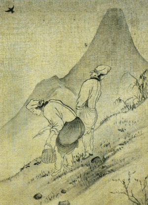 Yun Du-seo - Image: Yun Duseo Women Picking Edible Plants