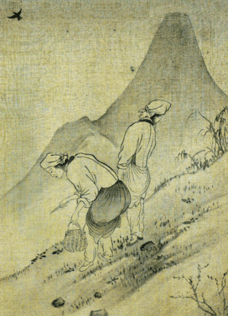 Yun Du-seo - Image: Yun Duseo Women Picking Edible Plants