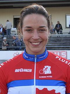 Yvonne Hijgenaar Dutch cyclist