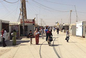Zaatari refugee camp - Zaatari refugee camp